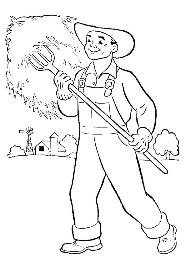 595x842 Community Workers Coloring Pages Box Coloring Page Community