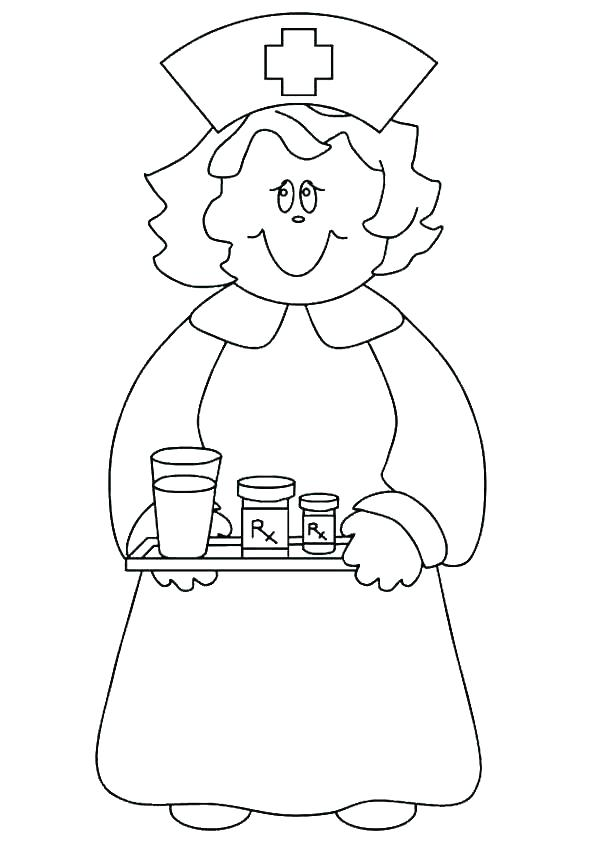 595x842 Community Helpers Coloring Book Community Workers Coloring Pages