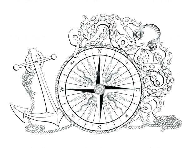 The best free Nautical coloring page images. Download from ...