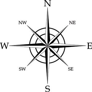 298x300 Compass Rose Coloring Page Compass Rose