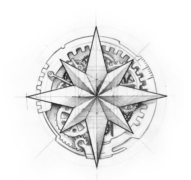 615x579 Compass Rose Coloring Page Aversion To Conformity