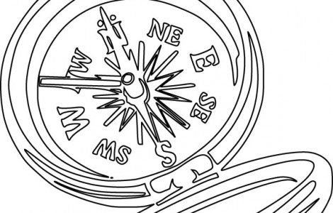 470x300 Compass Rose Coloring Pages Download Free Printable Coloring Pages