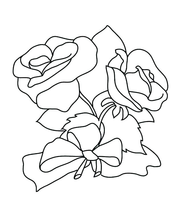 618x754 Heart And Roses Coloring Pages Heart And Roses Coloring Pages Free
