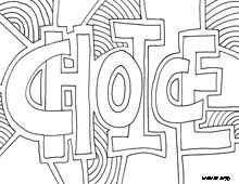 220x170 Free Printable Coloring Pages, Inspiring Words, Believe, Charity