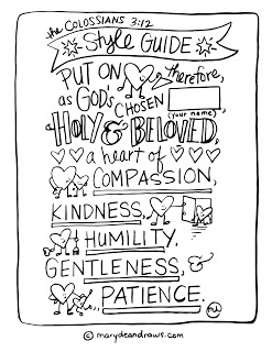 247x320 Practicing Kindness + The Colossians Style Guide Coloring