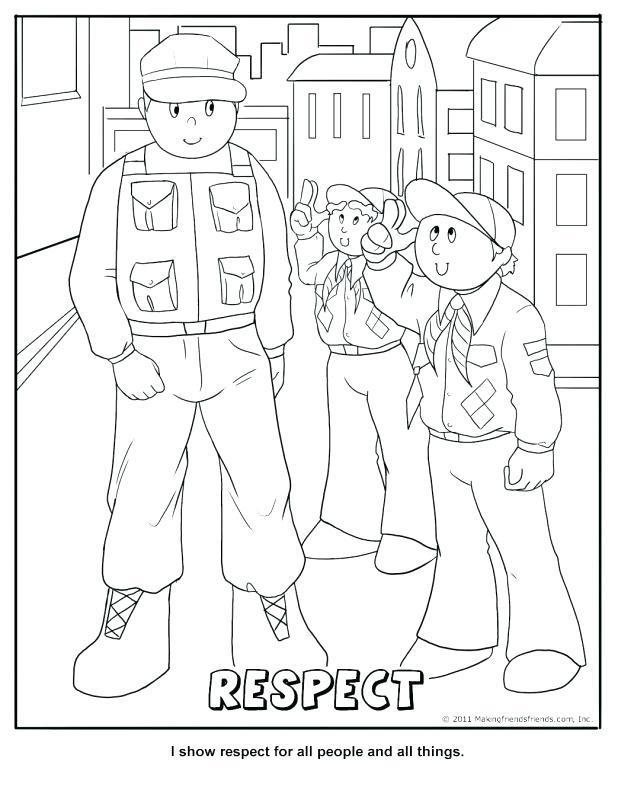 618x800 Boy Scout Coloring Pages Boy Scout Coloring Book Boy Scout