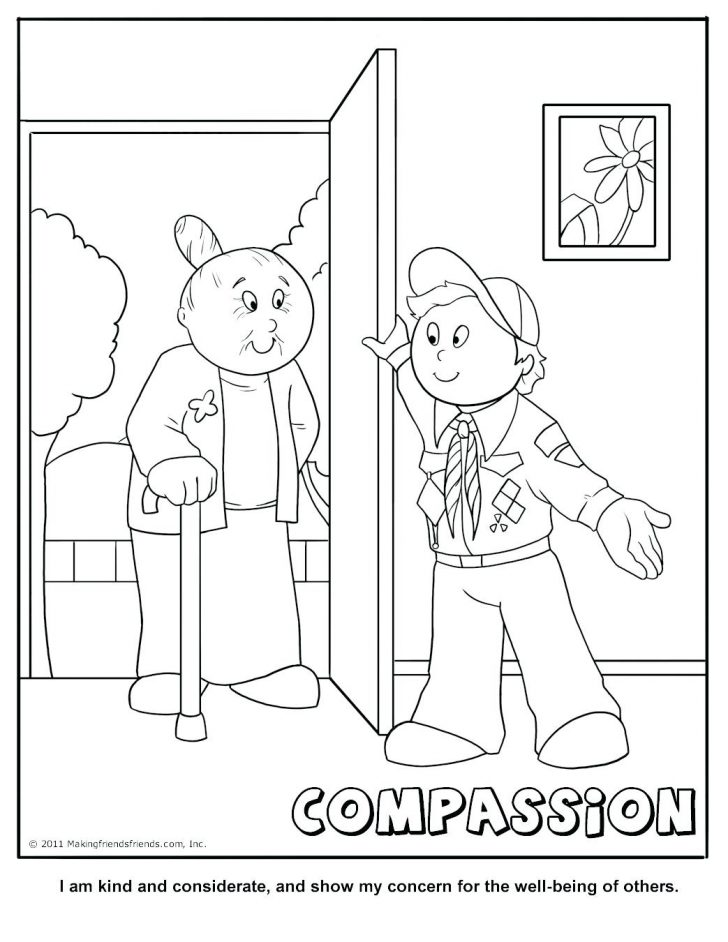 728x942 Compassion Coloring Pages Respect Coloring Pages With Wallpapers