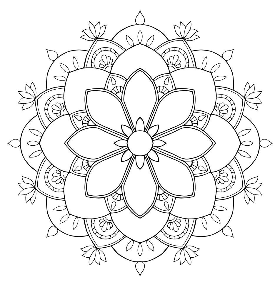952x960 Compassion Mandala Other Crafts Mandala, Mandalas