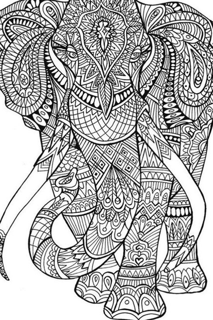 34 Finished Adult Coloring Pages - Free Printable Coloring Pages