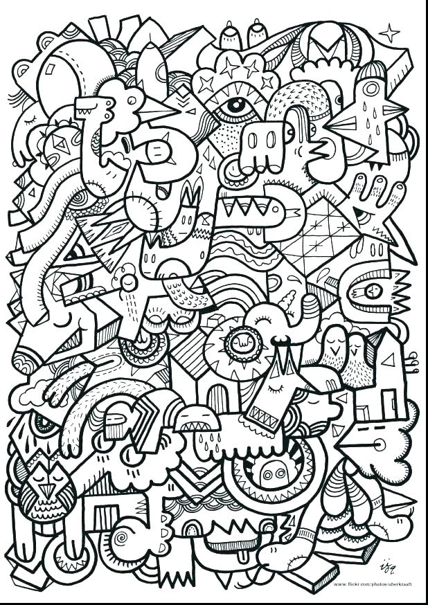 Complex Christmas Coloring Pages At Getdrawings Com Free For