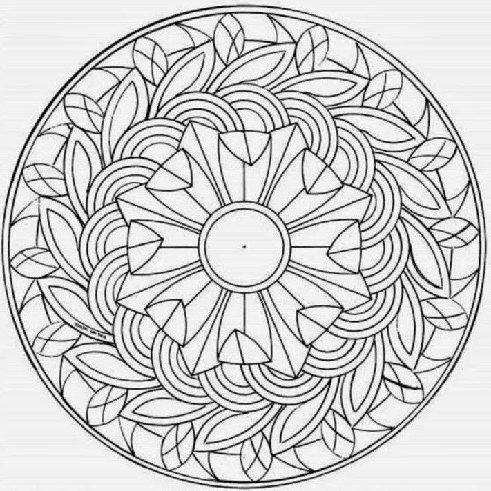 Complex Coloring Pages For Kids