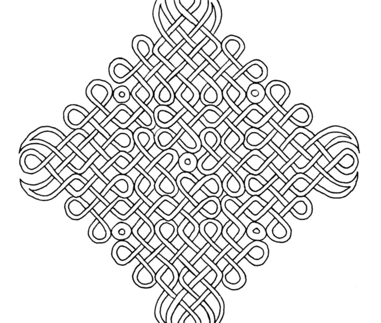 1275x1080 Complex Coloring Pages For Girls Free Printable Adults Colouring