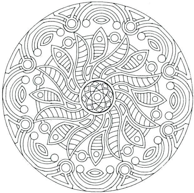 620x617 Complex Coloring Pages Free Com Coloring Pages With Printable