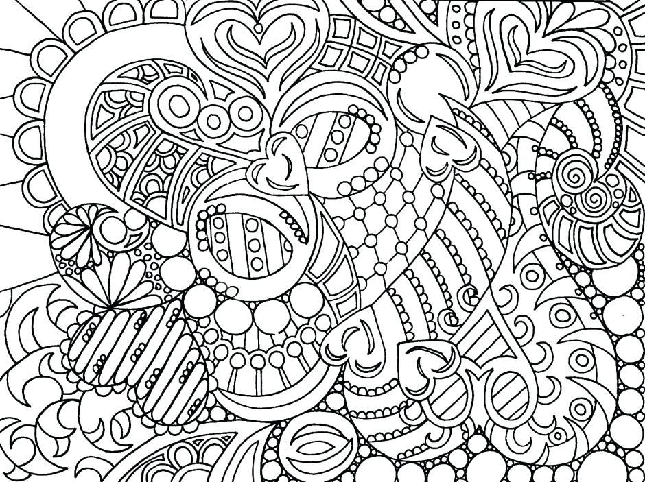 940x703 Complex Coloring Pages Free Printable Coloring