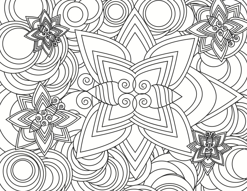 792x612 Detailed Coloring Pages Printable Detailed Color Pages Affan