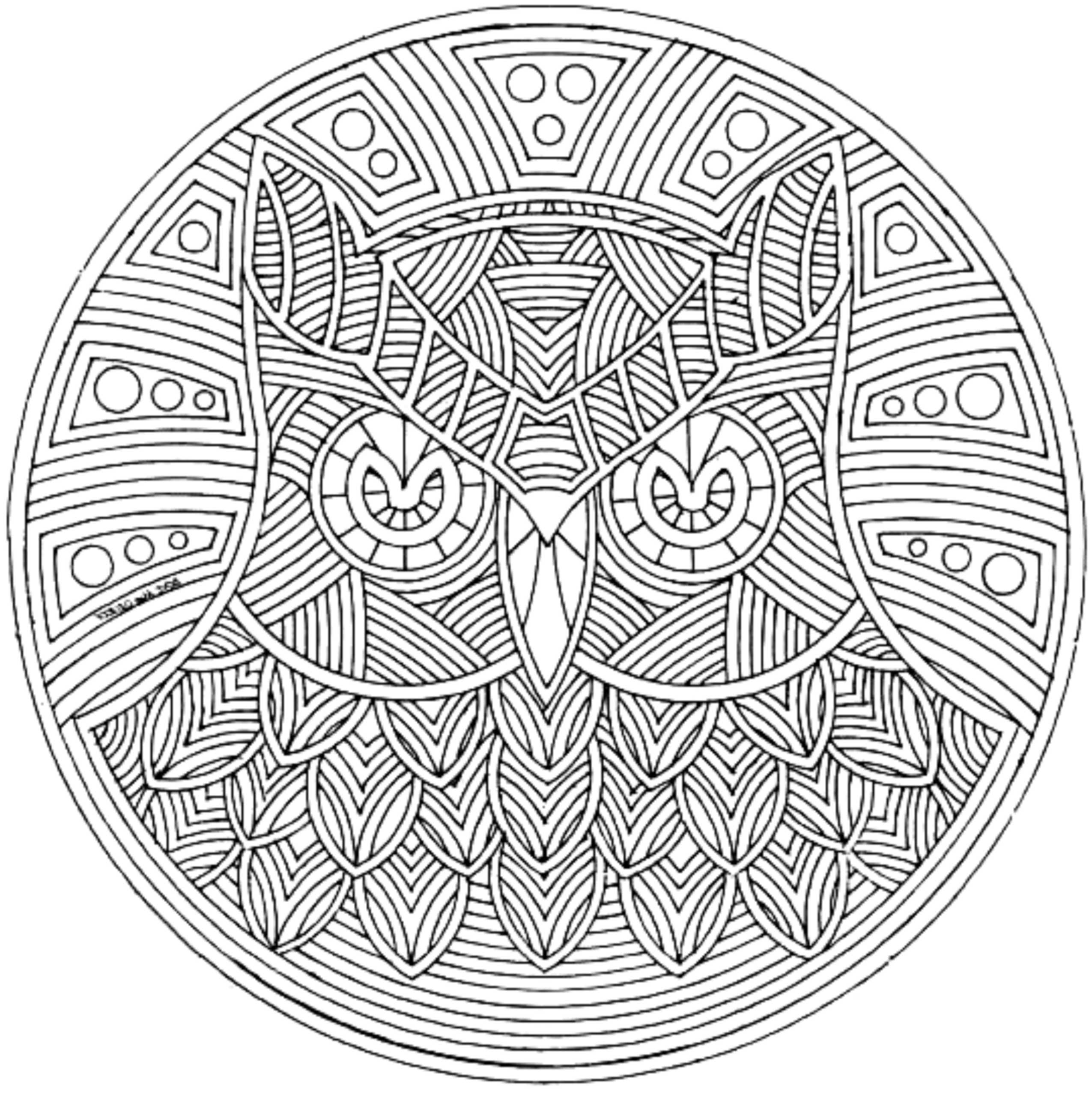 2550x2555 Printable Printable Adult Coloring Pages Printable Trippy Art Plex