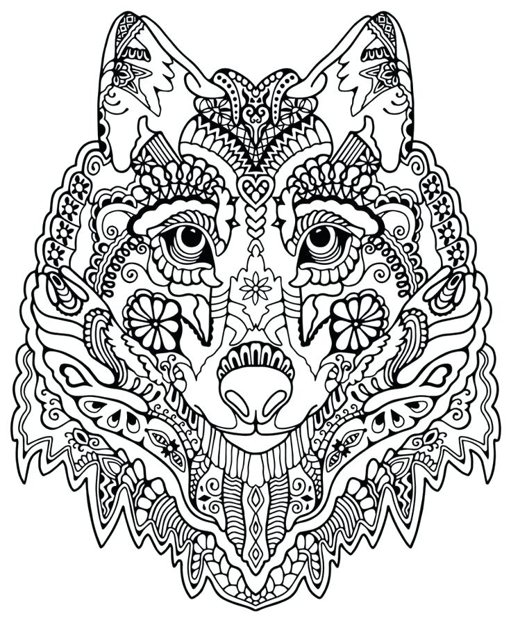 Complex Coloring Pages For Kids at GetDrawings | Free download