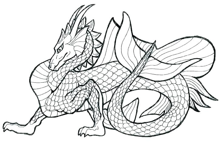 728x467 Real Dragon Coloring Pages Dragon City Coloring Pages Real Dragon