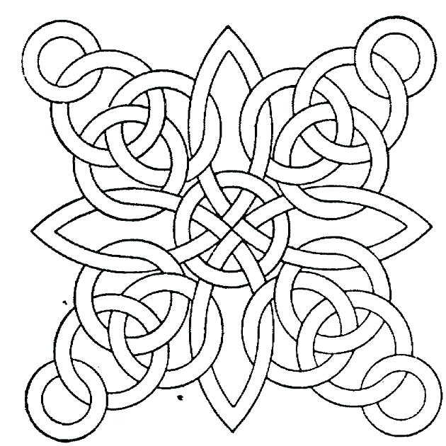 630x630 Geometric Sheets Free Geometric Coloring Pages Free Geometric