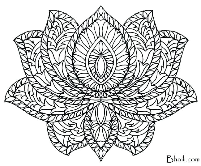 650x537 Complex Mandala Coloring Pages Mandala Color Pages Free Printable