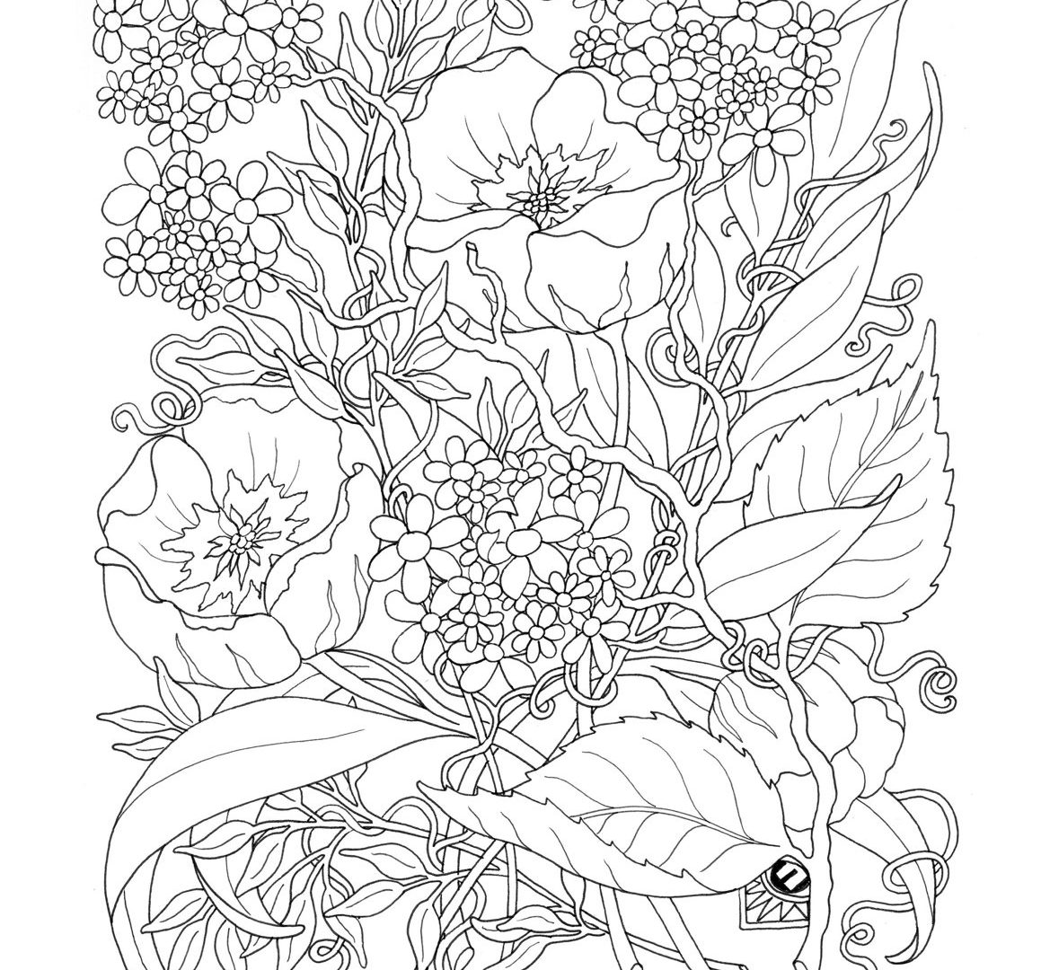 1159x1080 Difficult Coloring Pages For Adults To Download And Print Free