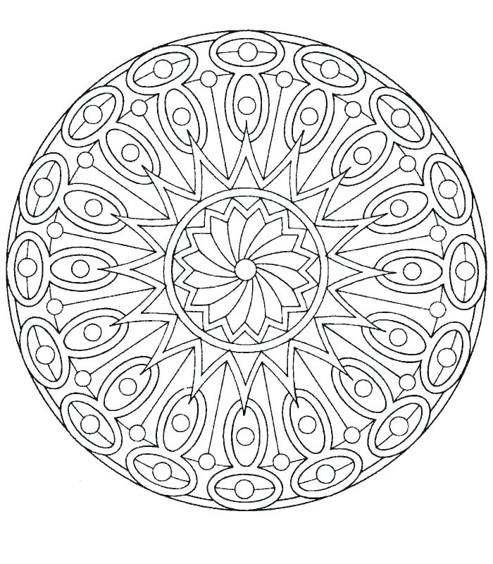 700x800 Complex Mandala Coloring Pages Complex Abstract Coloring Pages