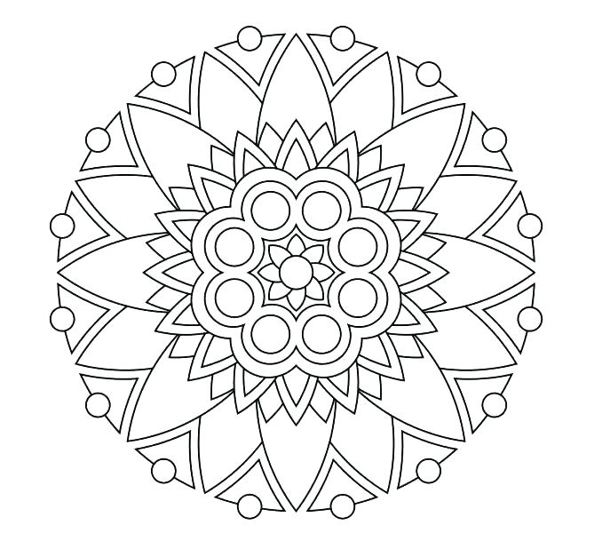678x600 Difficult Mandala Coloring Pages Difficult Mandala Coloring Pages
