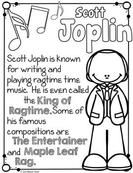 Meet the Composers-set of 12 Coloring Sheets /Coloring ... |Composers Coloring Pages