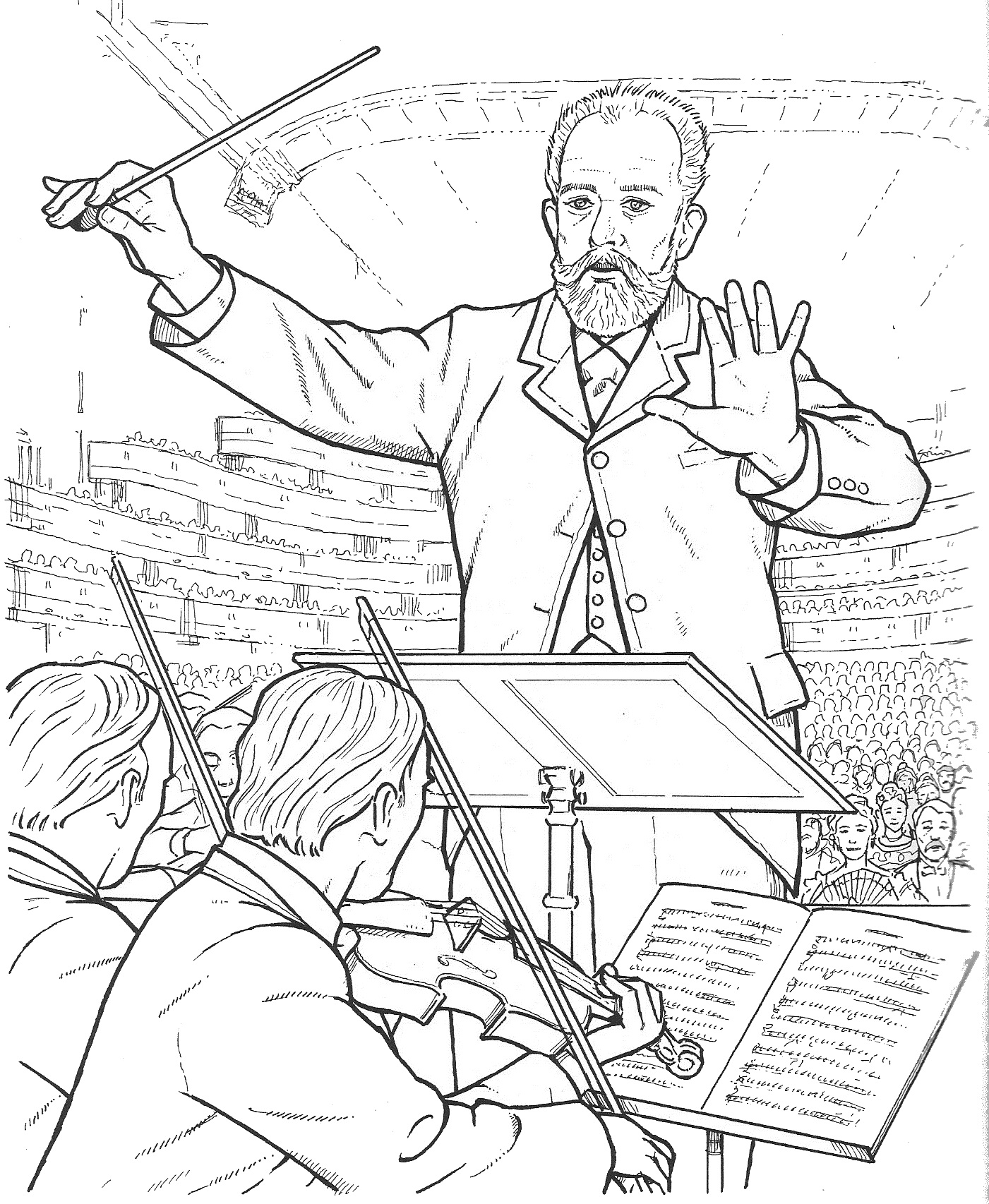 1401x1706 Tchaikovsky Compositores