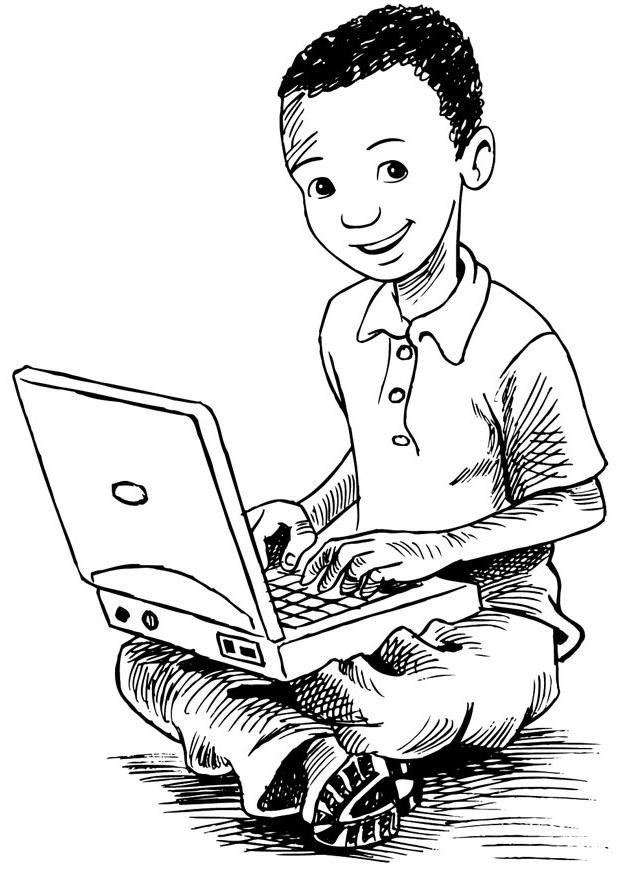 620x875 Kids N Coloring Pages Of Computer