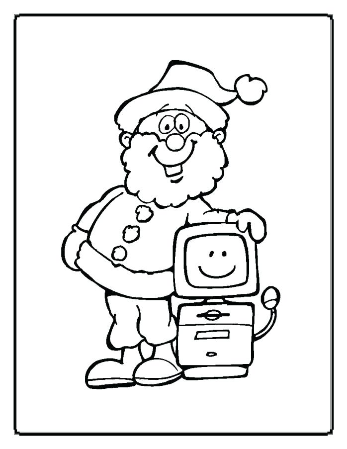 698x903 Computer Parts Colouring Pages Computer Coloring Sheets