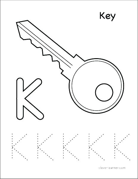 464x600 Key Coloring Page Download Large Image Computer Keyboard Coloring