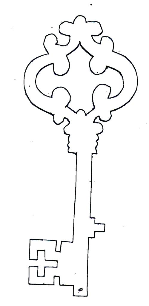 499x1024 Key Coloring Pages Drawing Key Coloring Page For Kids Laptop