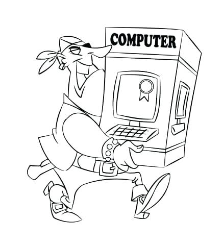 437x480 Computer Coloring Pages Awesome Coloring Pages On The Computer