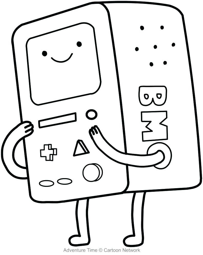 792x992 Computer Coloring Sheets Adventure Time Coloring Sheets Computer