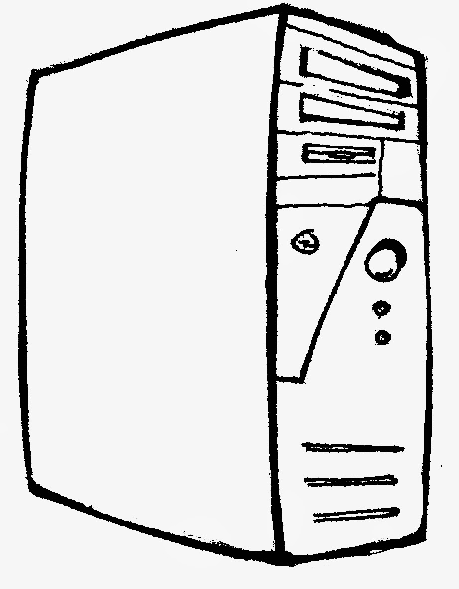 922x1182 Computer Parts Coloring Pages