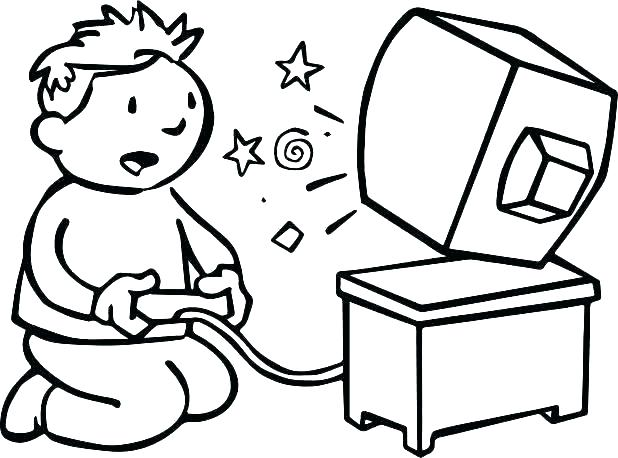 618x458 Computer Coloring Page Coloring Pages Games Computer Coloring Page