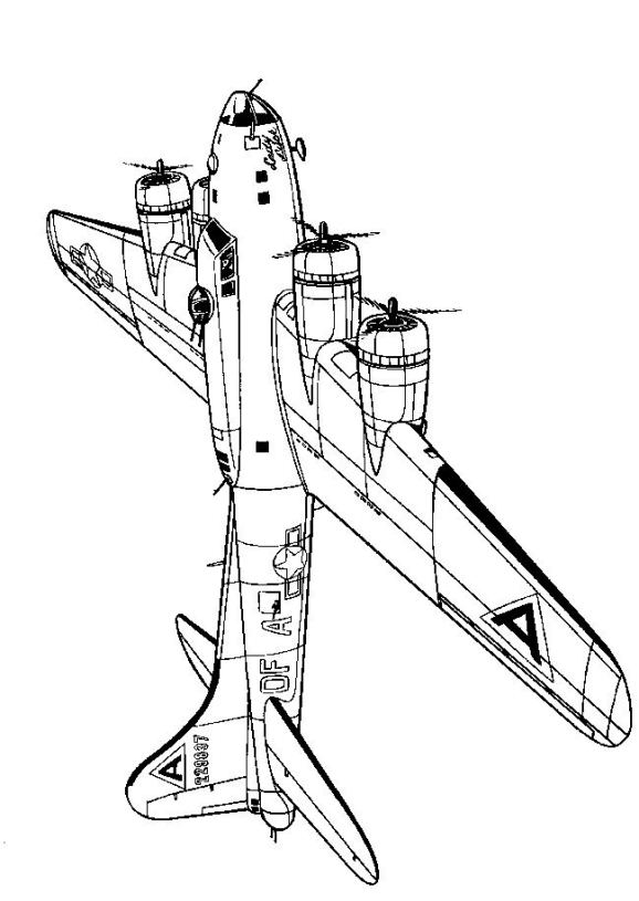 578x815 Kids N Coloring Pages Of Wwii Aircrafts