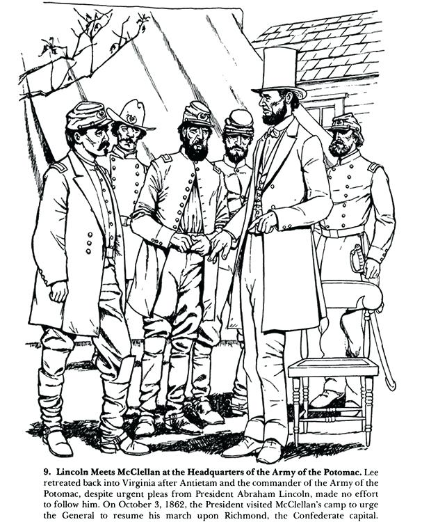 607x750 Civil War Coloring Page Civil War Coloring Pages Civil War