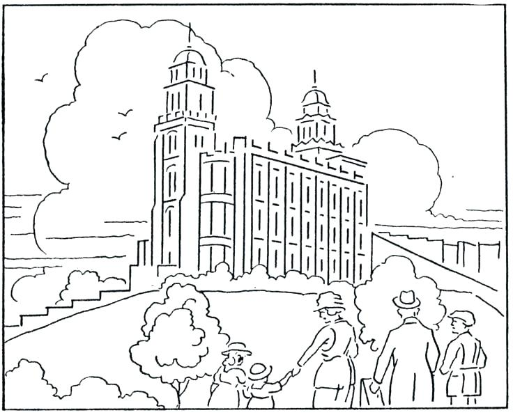 736x596 General Conference Coloring Pages General Conference Coloring
