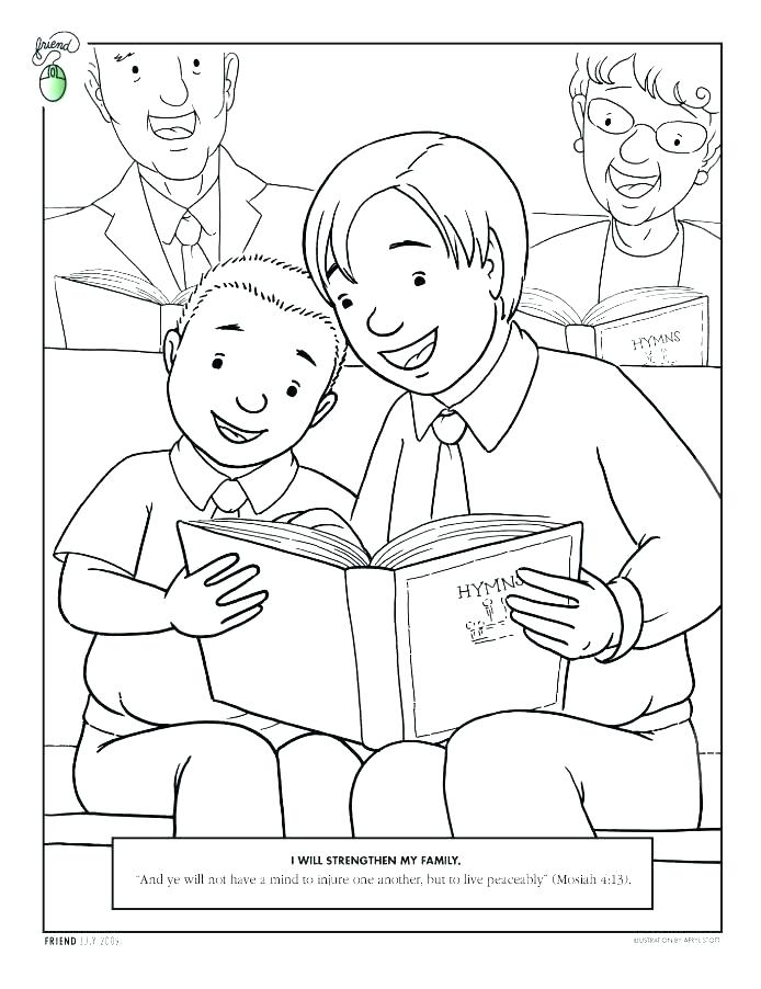 694x902 Sharing Coloring Page Sharing Coloring Page General Conference