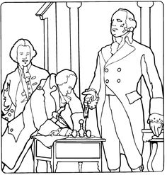 236x247 President Thomas Jefferson Facts And Coloring Picture Va Studies
