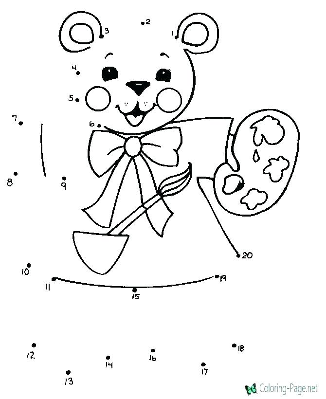 Connect The Dots Coloring Pages At Getdrawings Com Free For