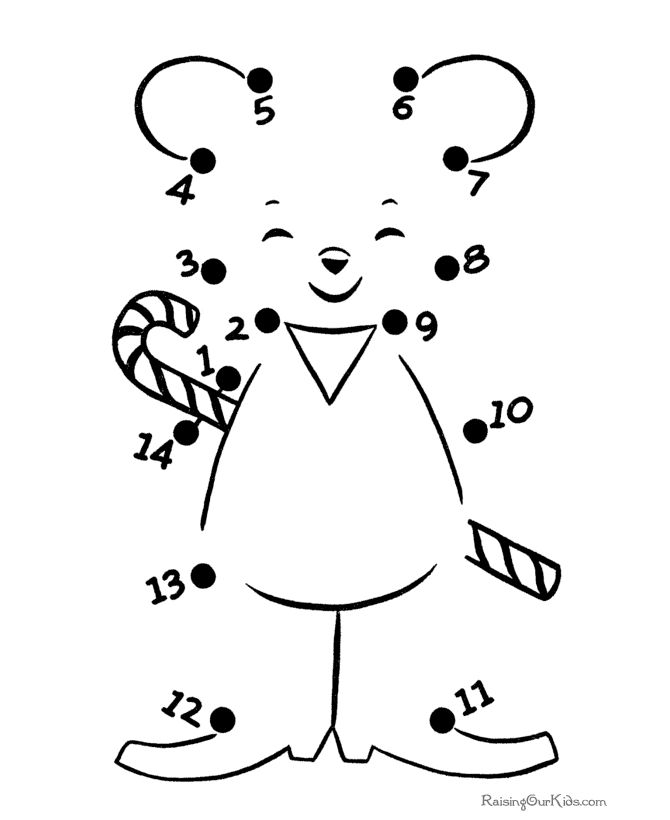 Connect The Dots Coloring Pages For Kindergarten At Getdrawings Com