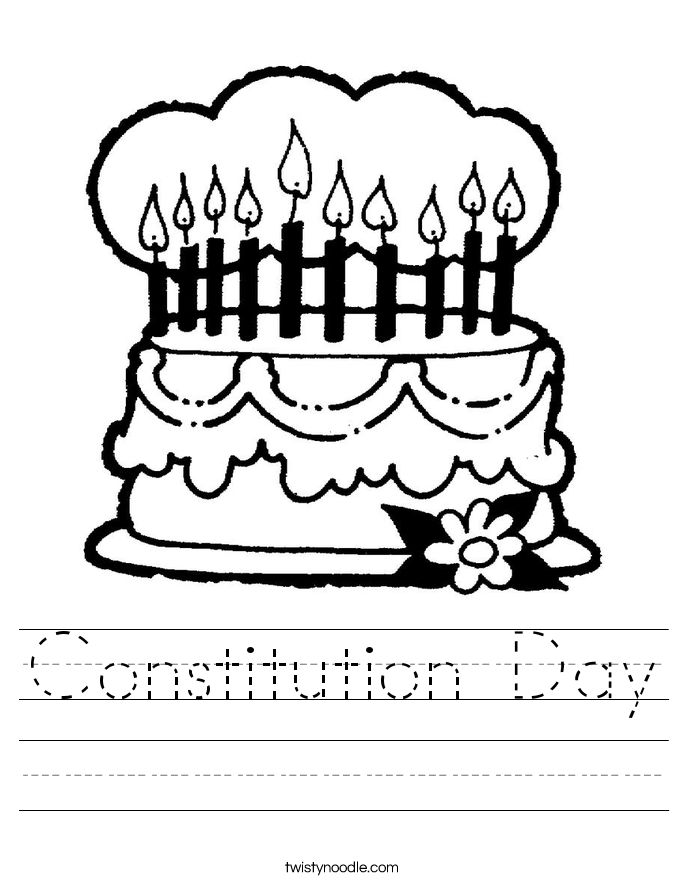 Constitution Coloring Pages