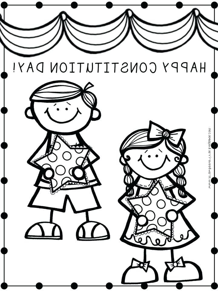 720x960 Constitution Day Coloring Pages Constitution Day Constitution Day