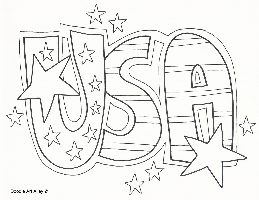 1035x800 Us Constitution Coloring Pages