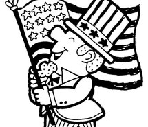 215x185 Constitution Day Coloring Page Images