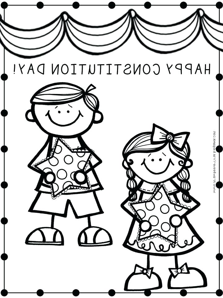 720x960 Constitution Day Coloring Pages All Images From Collection
