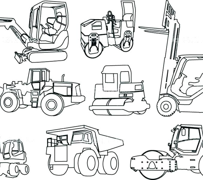 678x600 Construction Coloring Pages Construction Construction Themed